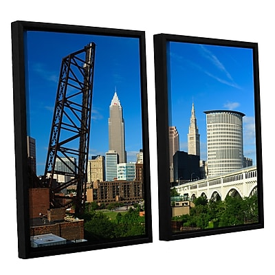 ArtWall 'Cleveland 13' 2-Piece Canvas Set 32