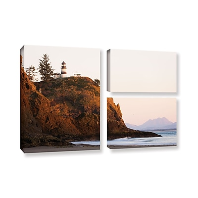 ArtWall 'Lighthouse' 3-Piece Gallery-Wrapped Canvas Flag Set 24