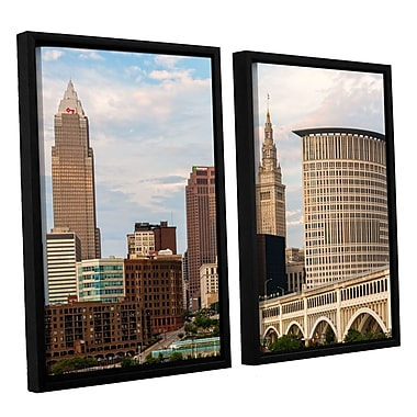 ArtWall 'Cleveland 9' 2-Piece Canvas Set 32