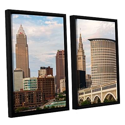 ArtWall 'Cleveland 9' 2-Piece Canvas Set 32