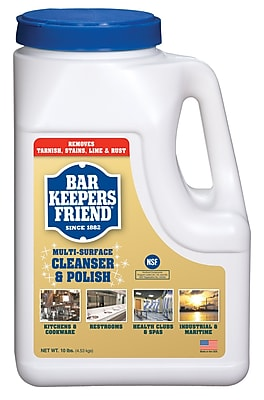 Bar Keepers Friend® Powder, 10 Pound Jug
