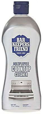 Bar Keepers Friend Cooktop Cleaner 13 Ounce,