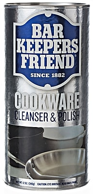 Bar Keepers Friend® Cookware Cleanser 12 Ounce, Case of 12