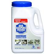 Bar Keepers Friend® Cookware Cleanser 10 Pound Jug, Case of 4