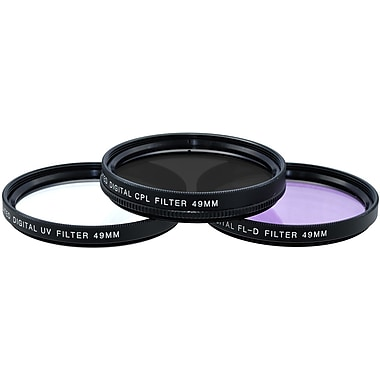 Xit Pro Series 49mm Multi Coated HD 3-Piece Digital Filter Set