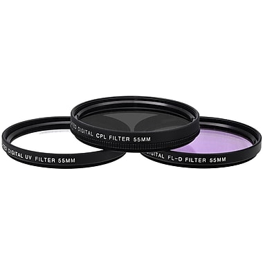 Xit Pro Series 55mm Multi Coated HD 3-Piece Digital Filter Set