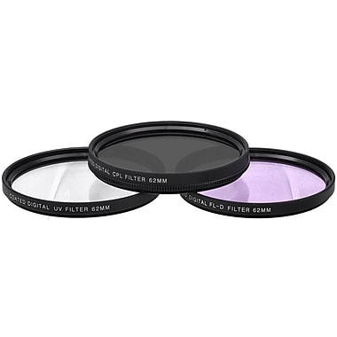 Xit Pro Series 62mm Multi Coated HD 3-Piece Digital Filter Set