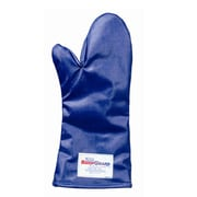 "Tucker 15"" Blue QuicKlean Conventional Oven Mitt With Sewn In Liner"