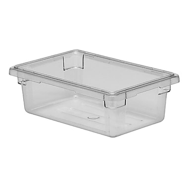 Cambro 12189CW135 4-3/4 Gallon Polycarbonate Food Storage Box, Clear