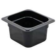 "Cambro 66CW135 Gastronorm Sixth Size Pans, 6"" Depth, 6/Pack"