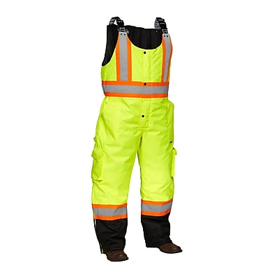 Forcefield Safety Overalls, Lime with Black trim