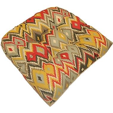 Creative Home Marva Indoor/Outdoor Cushion (Set of 2); Volcano
