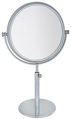 Frasco Polished Chrome Beauty Mirror 3x Magnification 13.75