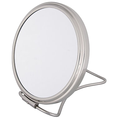 Frasco 7x Magnification Polished Beauty Mirror 5.75