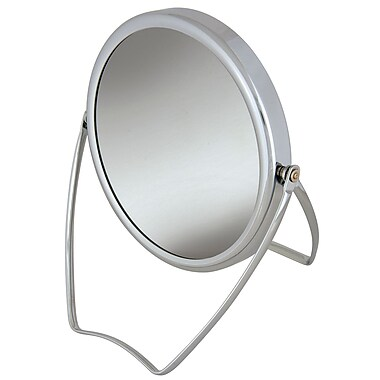 Frasco Polished Chrome Beauty Mirror 5x Magnification 6.75