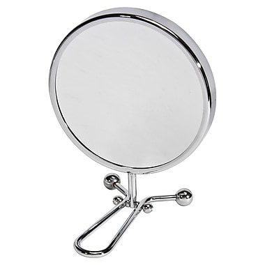 Naturally by Kingsley 10x Magnification Polished Chrome Beauty Mirror 11.25