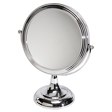 Naturally by Kingsley 10x Magnification Polished Beauty Mirror 11.5