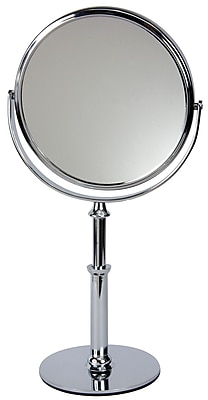 Naturally by Kingsley 10x Magnification Polished Beauty Mirror 12