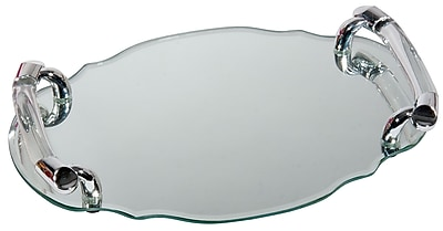 Naturally by Kingsley Polished Chrome Beauty Mirror 13