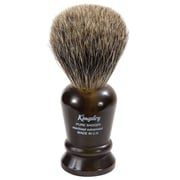 Kingsley for Men Pure Badger Bristle Shave Brush-Faux Tortoise Handle (SB-8014)