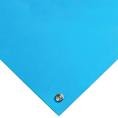 Wearwell Stat-Free Work Surface Mats, Blue