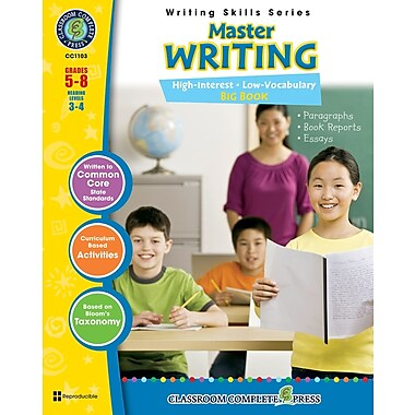 eBook: Master Writing Big Book, Grades 5-8 (PDF version, 1-User Download), ISBN 978-1-55319-395-1