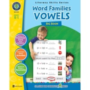 Word Families - Vowels Big Book, maternelle à 1re année, ISBN 978-1-55319-404-0