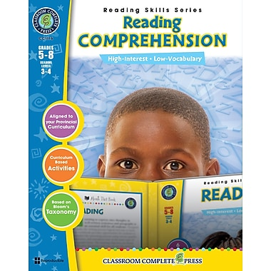 eBook: Reading Comprehension, Grades 5-8 (PDF version, 1-User Download), ISBN 978-1-55319-484-2