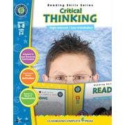 Critical Thinking, 5e à 8e années, ISBN 978-1-55319-486-6