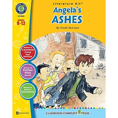 eBook: Angela's Ashes Literature Kit, Grades 9-12 (PDF version, 1-User Download), ISBN 978-1-55319-973-1