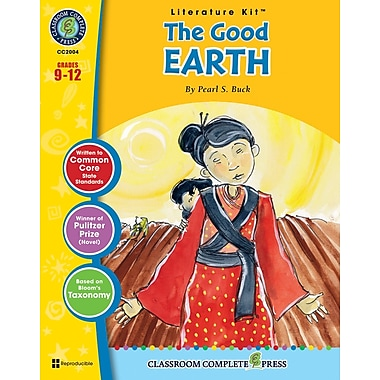eBook: The Good Earth Literature Kit, Grades 9-12 (PDF version, 1-User Download), ISBN 978-1-55319-975-5