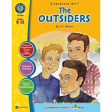 The Outsiders Literature Kit, Grades 9-12, ISBN 978-1-77167-002-9