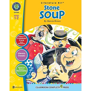 Stone Soup Literature Kit, Grades 1-2, ISBN 978-1-55319-321-0