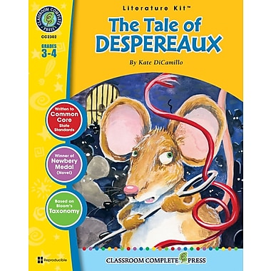 eBook: The Tale of Despereaux Literature Kit, Grades 3-4 (PDF version, 1-User Download), ISBN 978-1-55319-326-5