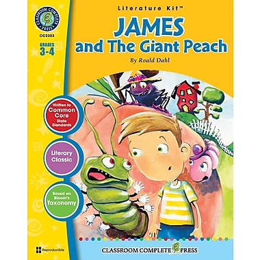 eBook: James and the Giant Peach Literature Kit, Grades 3-4 (PDF version, 1-User Download), ISBN 978-1-55319-327-2