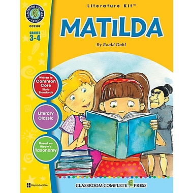 eBook: Matilda Literature Kit, Grades 3-4 (PDF version, 1-User Download), ISBN 978-1-55319-449-1