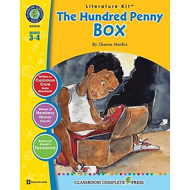 eBook: The Hundred Penny Box Literature Kit, Grades 3-4 (PDF version, 1-User Download), ISBN 978-1-77167-004-3