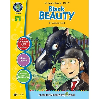 eBook: Black Beauty Literature Kit, Grade 5-6 (PDF version, 1-User Download), ISBN 978-1-55319-332-6