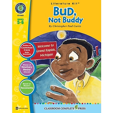 eBook: Bud, Not Buddy Literature Kit, Grade 5-6 (PDF version, 1-User Download), ISBN 978-1-55319-334-0