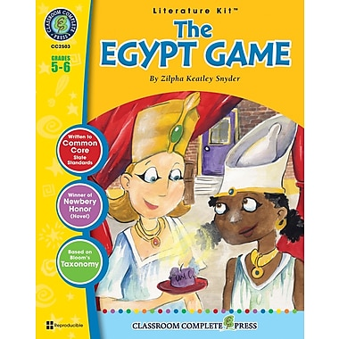 The Egypt Game Literature Kit, Grade 5-6, ISBN 978-1-55319-335-7