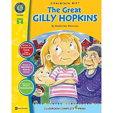 The Great Gilly Hopkins Literature Kit, Grade 5-6, ISBN 978-1-55319-336-4