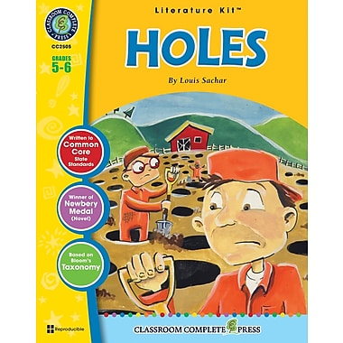 eBook: Holes Literature Kit, Grade 5-6 (PDF version, 1-User Download), ISBN 978-1-55319-337-1