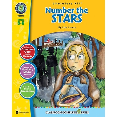 eBook: Number the Stars Literature Kit, Grade 5-6 (PDF version, 1-User Download), ISBN 978-1-55319-338-8