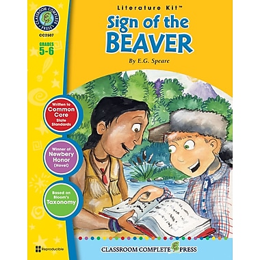 eBook: The Sign of the Beaver Literature Kit, Grade 5-6 (PDF version, 1-User Download), ISBN 978-1-55319-339-5