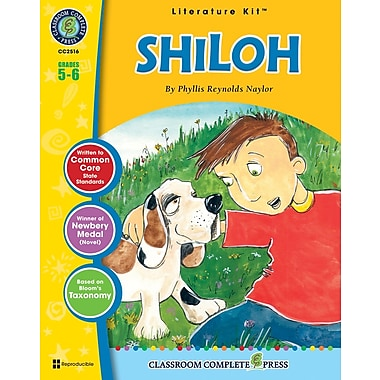 eBook: Shiloh Literature Kit, Grade 5-6 (PDF version, 1-User Download), ISBN 978-1-55319-488-0