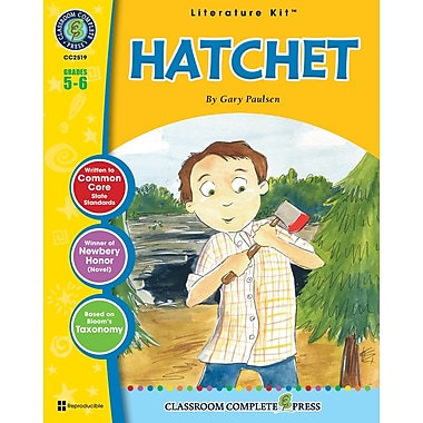 eBook: Hatchet Literature Kit, Grade 5-6 (PDF version, 1-User Download), ISBN 978-1-55319-557-3