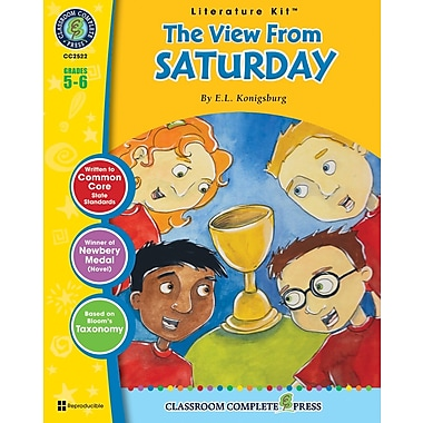 The View From Saturday Literature Kit, Grade 5-6, ISBN 978-1-55319-597-9