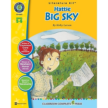 Hattie Big Sky Literature Kit, Grade 5-6, ISBN 978-1-55319-598-6