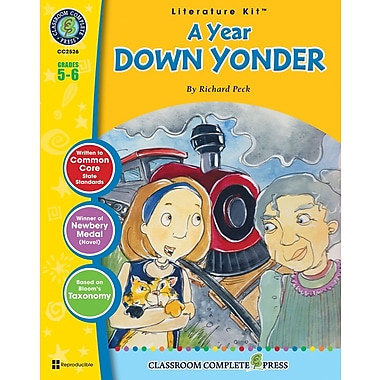eBook: A Year Down Yonder Literature Kit, Grade 5-6 (PDF version, 1-User Download), ISBN 978-1-55319-596-2