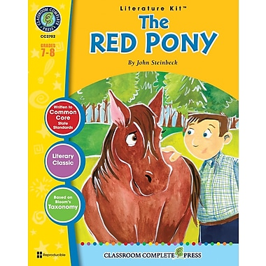 eBook: The Red Pony Literature Kit, Grades 7-8 (PDF version, 1-User Download), ISBN 978-1-55319-384-5